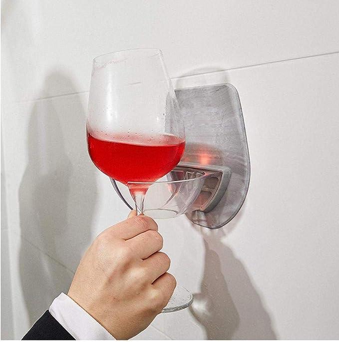 Kunststoff Weinglashalter für die Badedusche Rotweinglashalter nach Hause