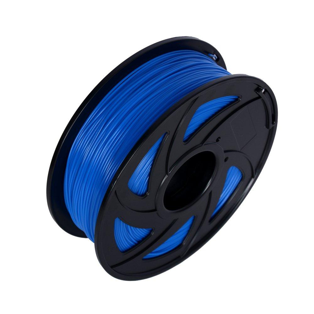 // LEE FUNG 1.75mm PLA 3D Printing Filament Dimensional Accuracy 0.05 mm 2.2 LB Spool DIY Material Tools Blue