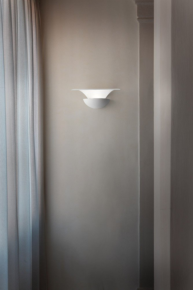 Luz de pared Masiero Blossomy LED Color Blanco Hecho a mano, fabricado en Italia, de intensidad regulable