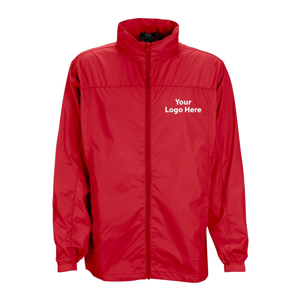 Full Zip Lightweight Jacket - 12 Quantity - $38.40 Each - BRANDED/CUSTOMIZED