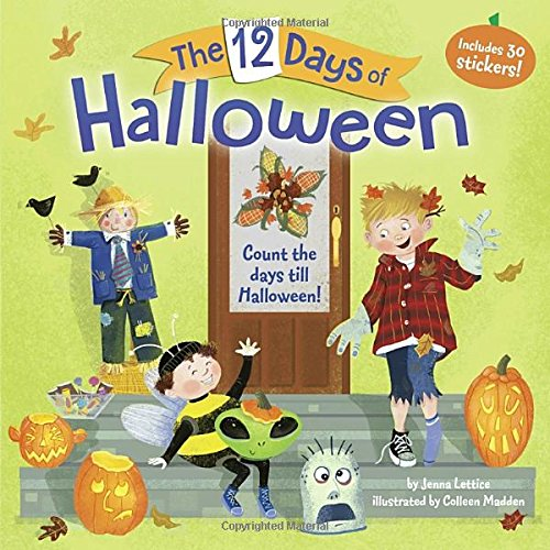 The 12 Days of Halloween (Halloween Pumpkin Songs For Preschoolers)
