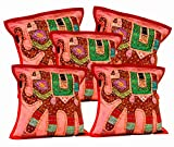 5Pcs-100Pcs Amazing India Red Patchwork Home Decorative Cushion Covers Wholesale Lot