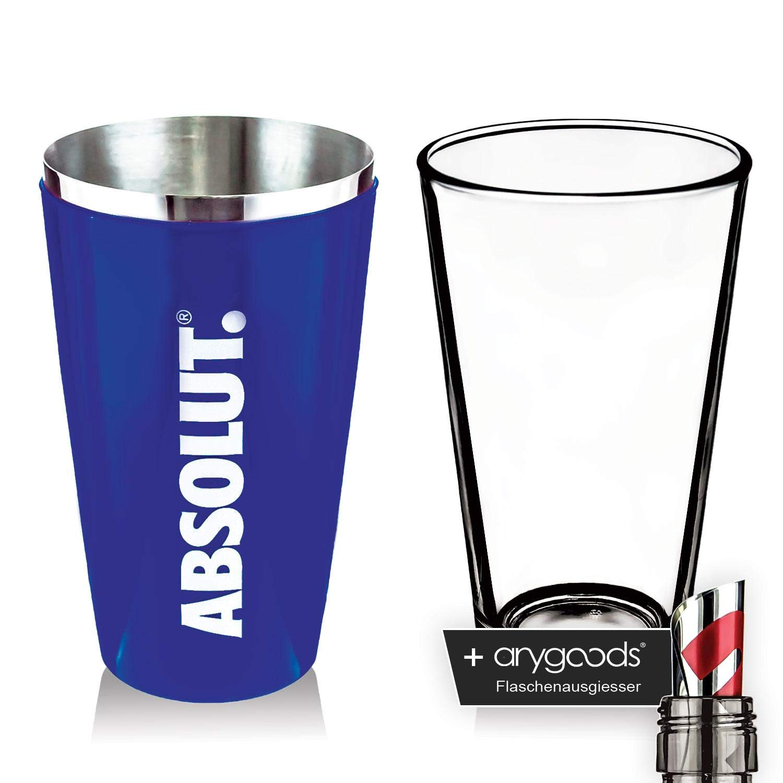 Absolut Vodka Boston – Coctelera Vidrio vasos Licuadora Cóctel ...