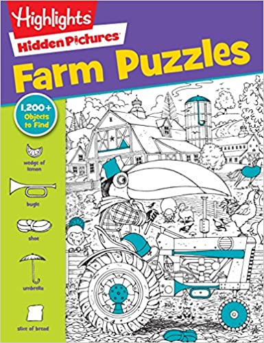 Farm Puzzles Highlightstm Hidden Pictures Highlights