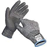 防刃手袋 耐切創手袋レベル5 防刃 軍手 切れない手袋 耐刃手袋 カットガード 防刃てぶくろ 作業用手袋 滑り止め 背抜き手袋 作業用グローブ