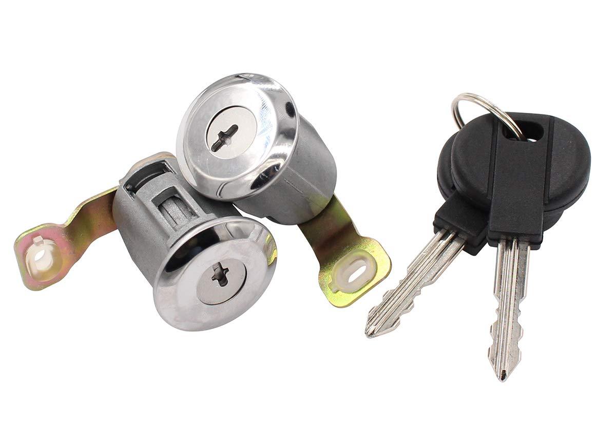 Front Left /& Right /& Rear Door Lock Barrel Keys Set for Berlingo First Xsara Picasso Partner Origin