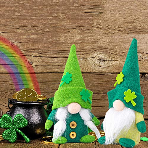 Gerbrief 2PCS Gnome Plush Collectible Dolls Decoration Patriotic Tomte Veterans Day Household Ornaments Decor Garden Dolls Home Collectible Gifts (E)