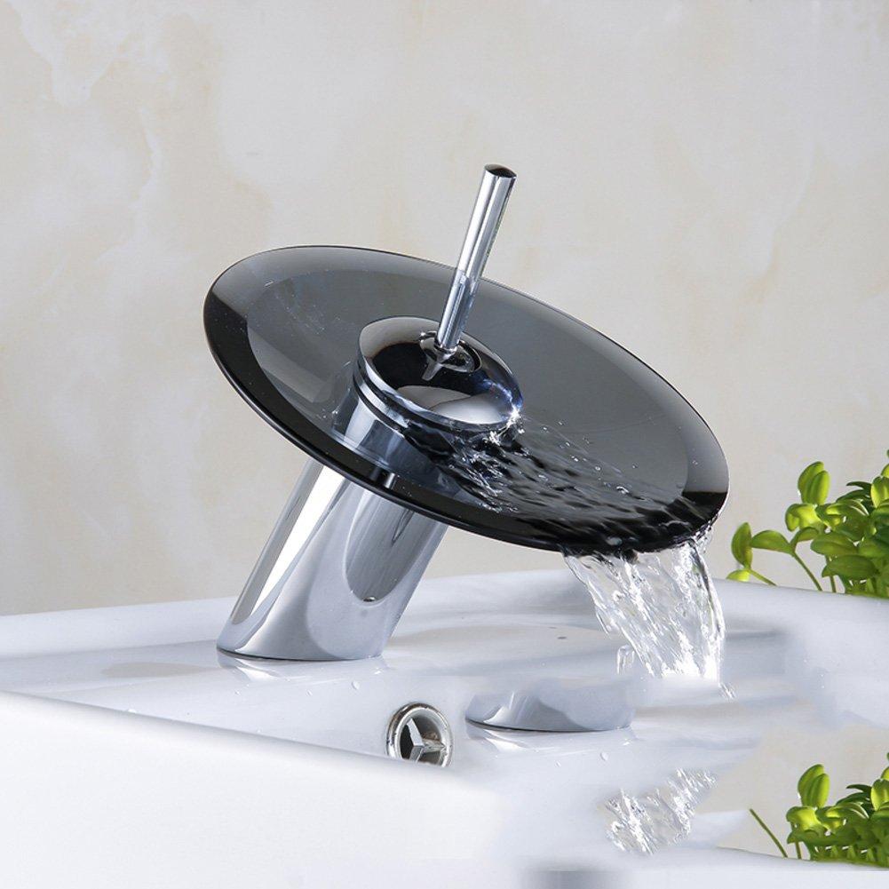 Einzelne hebel heißen und kalten waschbecken wasserhahn,Amerikanische reines kupfer waschbecken wasserhahn-B