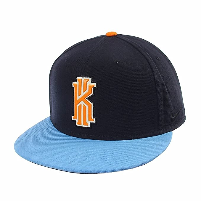 ... black white 842091 010 2a92d e8d85  discount code for nike kyrie irving  2 mens adjustable snapback univerity blue hat 73fa8 d662f 440d30ed1dc4