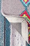 nuLOOM Belini Hand Tufted Wool Area Rug, 5 Feet x 8