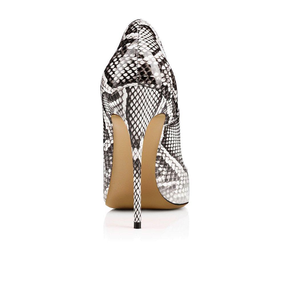 Xue Damenschuhe PU Frühling Sommer wies wies wies Schuhe Heels nationalen Stil Pfennigabsatz Hochzeit Party & Abend Kleid Formale Business-Arbeit (Farbe   B, Größe   34) B07DQF2LFM Tanzschuhe Trend c8fcdb