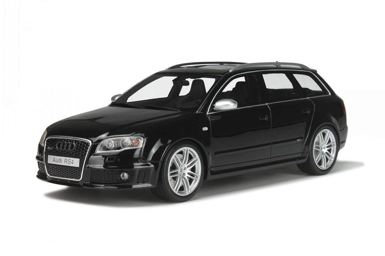 Audi A4 B7 RS4 Avant schwarz Modellauto OT199 Otto 1:18