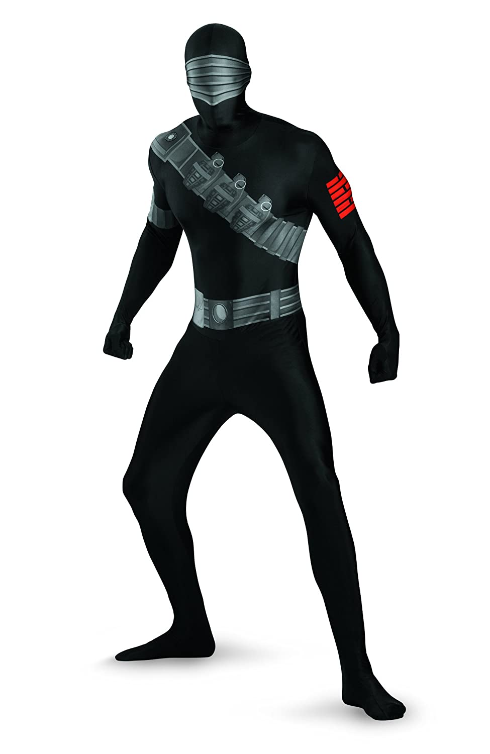 Morris Costumes Mode GIJOE SNAKE EYES