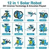 IVETTO Solar Robot Kit 12 - in - 1 Robot Creation