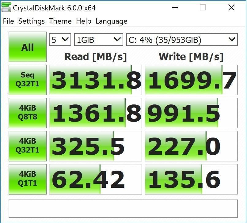 HP EX920 M 2 1TB PCIe 3 1 X4 Nvme 3D TLC NAND Internal Solid