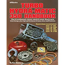 Turbo Hydra-Matic 350 Handbook: How to Troubleshoot, Remove, Rebuild, and Install. Details Parts Interchange, Plus High-Performance and Heavy-Duty Modifications