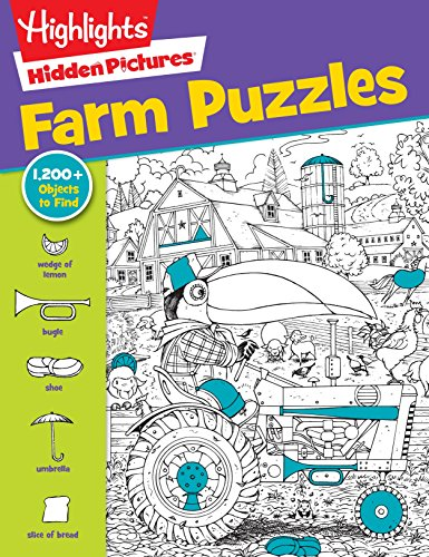 Farm Puzzles (Highlights Hidden Pictures