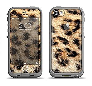 The Real Cheetah Animal Print Apple iPhone 5c LifeProof Fre Case Skin Set (Skin Only)