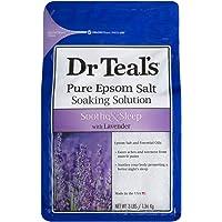 Dr Teals Lavender Epsom Salt Soaking Solution, 1.36 kg