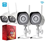 Amazon Price History for:Zmodo 720p HD Outdoor Wireless Camera Day Night Home Security Camera System (4 Pack)