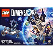 Lego Dimensions - Batman, Batmobile, Gandalf, Wyldstyle Set