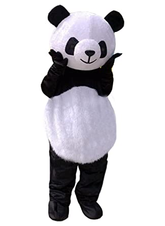 panda mascot costume panda costume adult halloween fancy dress small