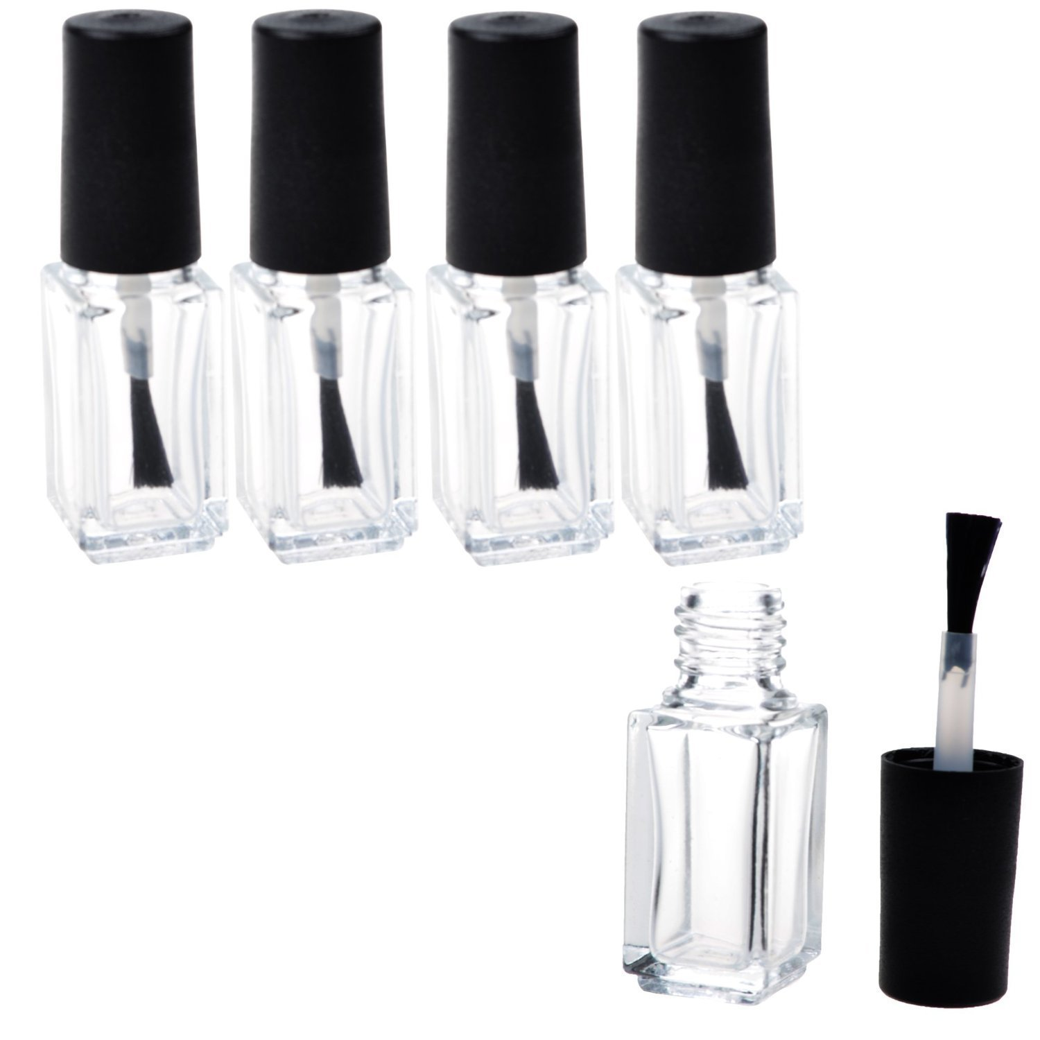 Amazon.com : Nail Polish Replacement Brushes - Pack Of 5 : Beauty