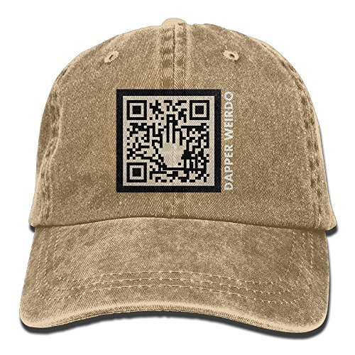 HEZHENHH Dapper QR-Code Adjustable Baseball - Deliveries Dapper
