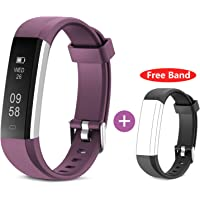 Fitness Tracker Watch, HolyHigh 115U Smart Fitness Tracker Band for Men Women Kids Unisex Sports Activity Tracker Watch with Step Counter Calories Burned Sleep Monitor SMS Notification