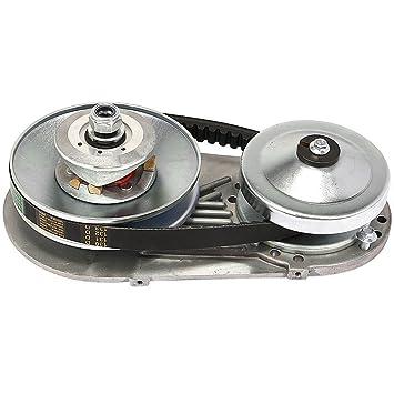 jeremywell Torque Converter Go Kart Kit de embrague 30 Serie 3/4 Inch Cadena de