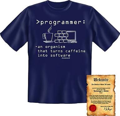 trag-das Fun - Camiseta + Gratis Diversión Escrituras - Diseño  Programmer. Ingeniosamente  Divertido Cool Fun Camiseta Camiseta Regalo Azul Marino 54  ... eb2f2c69e6043