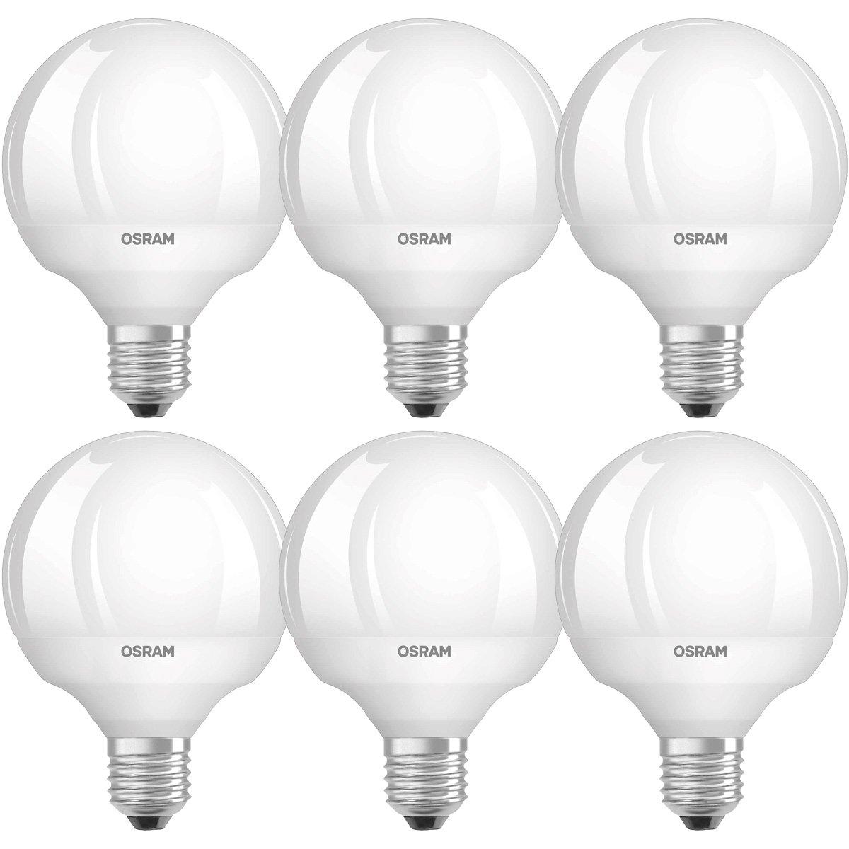 OSRAM LED Star Classic Globe/LED-Lampe in Ballform mit E27-Sockel ...