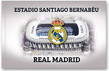 BANDERA REAL MADRID ESTADIO SANTIAGO BERNABEU 150x100 CM: Amazon ...