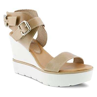 Spring Step Women's Leticia Taupe Sandal