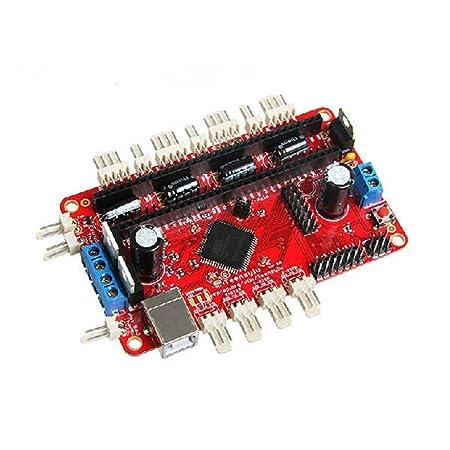 PEJGD Junta Impresora 3D Teensylu Hi3D v0.8 RepRap Mendel Prusa ...