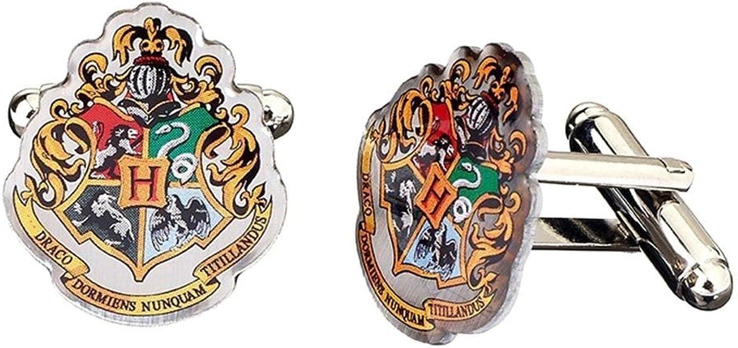 Harry Potter Hogwarts Crest Boutons de Manchette