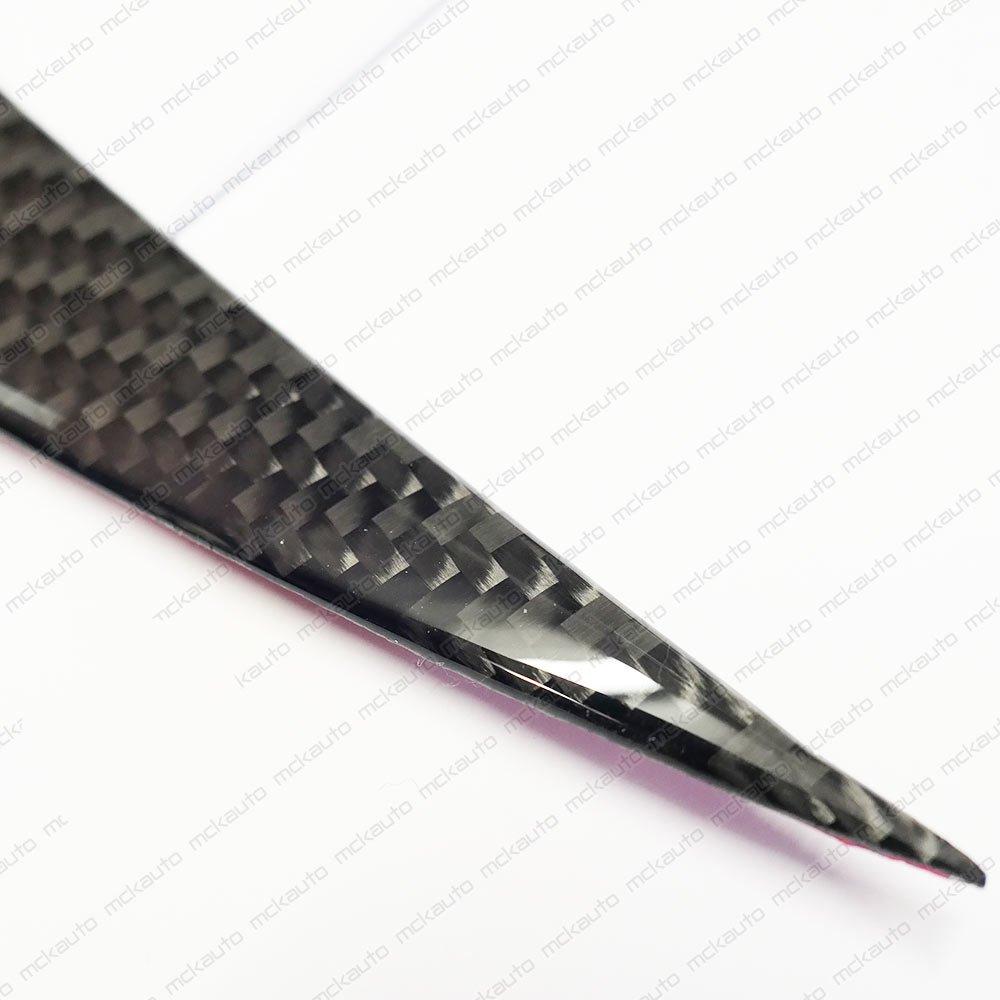 anteriore fari sopracciglia di coperchi in plastica lucida sticker Tuning laptop modifica fibra di carbonio M5/F10/F11/2011/2012/2013/models Fiber Tuning GB8L2