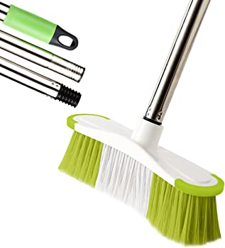 Soft Sweeping Broom, MEIBEI Push Broom