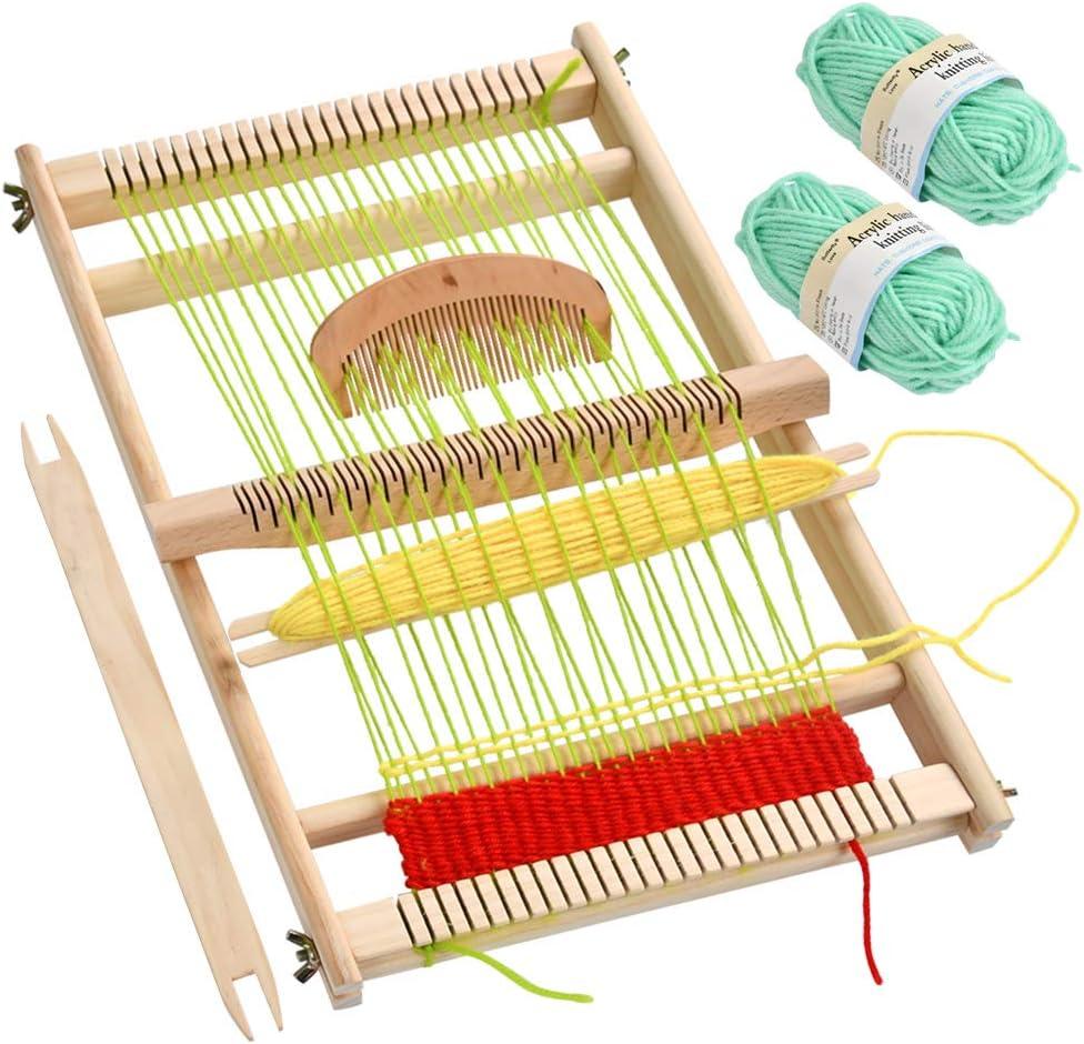 Wooden Multi-Craft Weaving Loom Large Frame