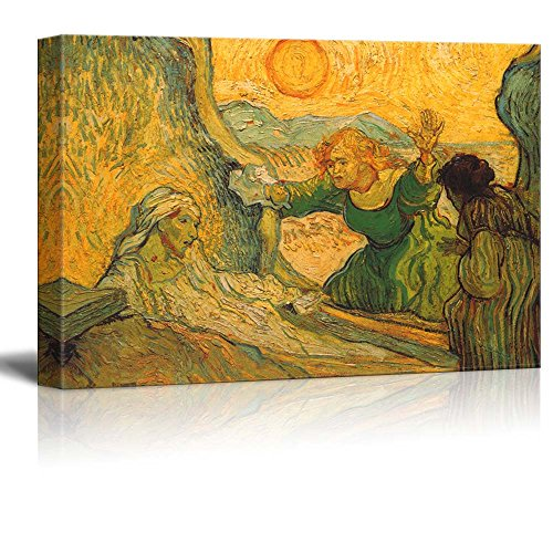 The Raising of Lazarus by Vincent Van Gogh Print Famous Painting Reproduction