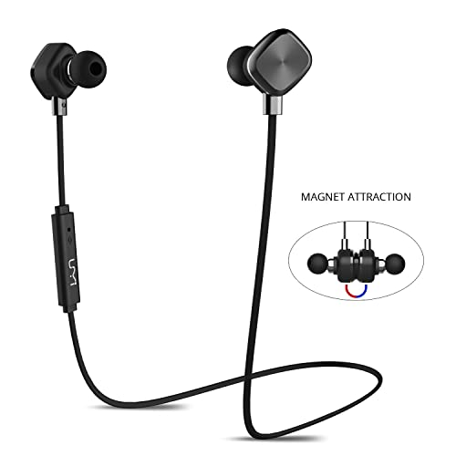 UMIDIGI In-Ear Sport Earbuds, Magnetic Wireless Bluetooth Headphones with 8-Hour Playtime and CVC 6.0 Noise Cancellation, IPX6 Sweatproof for Running, Workout, Gym - Sports Earphones with Mic