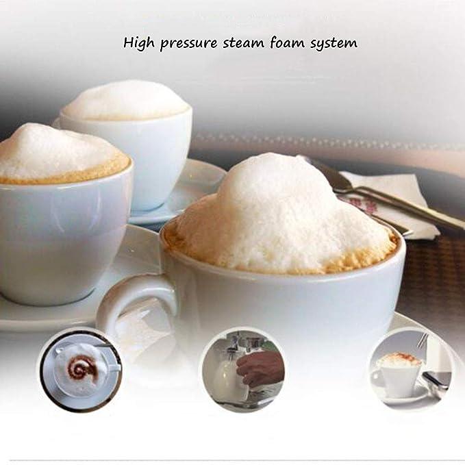 Cafeteras de Espresso automáticas Máquina de café Express semiautomática máquina de café Comercial Multifuncional máquina de Espuma Resistente al Vapor ...