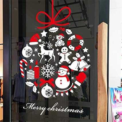 Christmas Vinyl Decals For Glass Blocks.Amazon Com Christmas Moon Sugar Decals Glass Block Vinyl