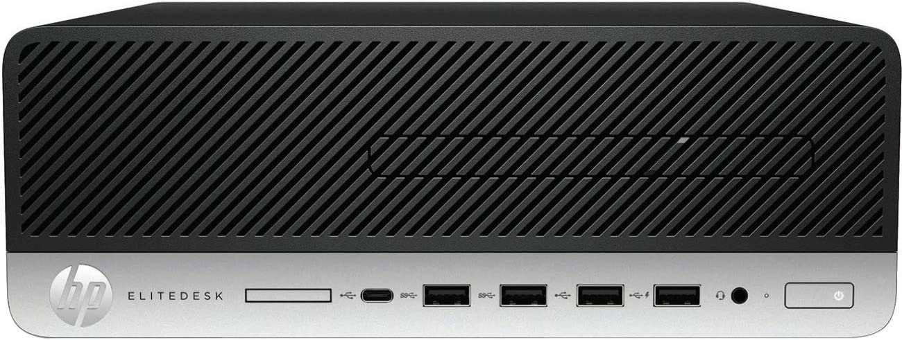 HP EliteDesk 705 G4 Desktop Computer - AMD A-Series (7th Gen) A10-9700 3.50 GHz - 8 GB DDR4 SDRAM - Windows 10 Pro 64-bit (English) - Small Form Factor - AMD Radeon R7 Graphics Graphics - English Keyb