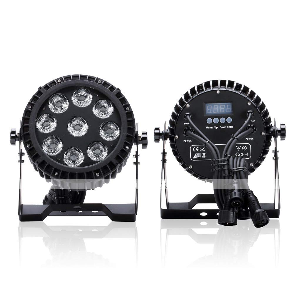 YICIX LED Stage Light/Spot Light/LED Par Lights Auto 100W for Party/Stage/Wedding Professional