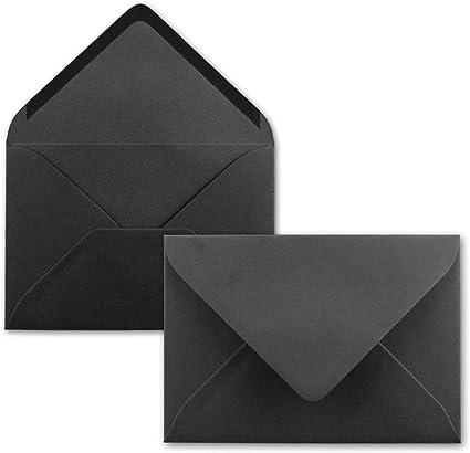 Neuser buste per lettere chiusura adesiva da inumidire 50 Umschl/äge 22-Naturweiss formato C6 dimensioni/162 x 114/mm