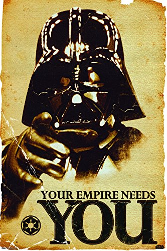 star wars empire wall poster