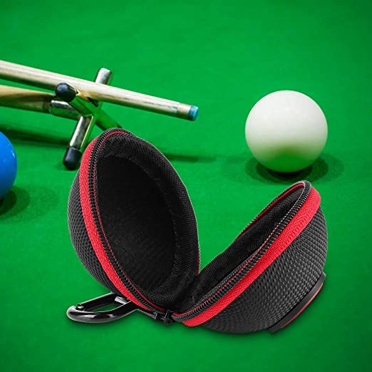 Portable Billiard Cue Ball Bag Carrying Pool Training Balls Case Holder