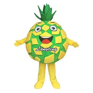 Langteng Piña Mascot Cartoon Disfraz: Amazon.es: Deportes y aire libre