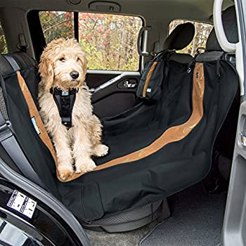 kurgo wander dog hammock  u0026 pet seat cover  u2013 stain resistant  u2013 water resistant  u2013 universal fit amazon     waterproof microfiber half back seat hammock pet seat      rh   amazon